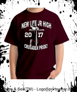 SPIRITWEAR APPROVED -JR HIGH YOUTH SIZES, Gildan T-shirt Design Zoom