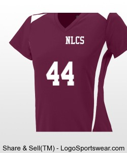 WOMENS VOLLEYBALL JERSEY- APPROVE NUMBER BEFORE ORDERING Design Zoom